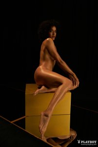 Ndolo nackt Alexandra  Playboy: Die