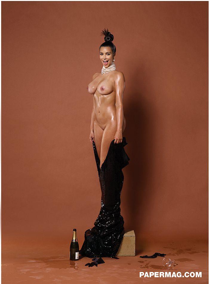 kim kardashian topless video