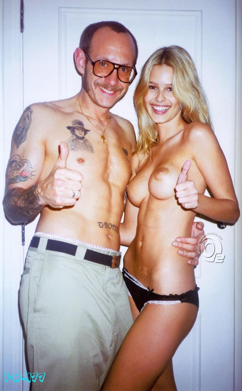 naked Kate terry richardson moss