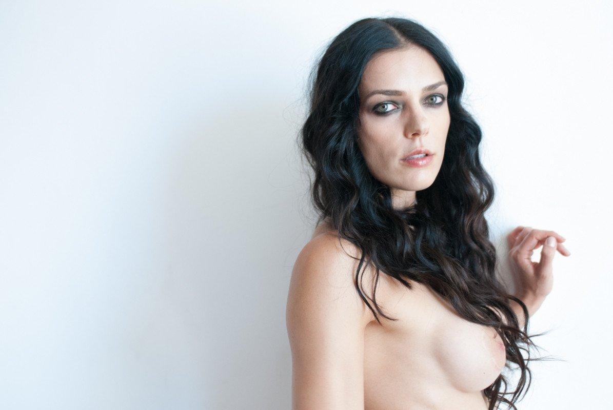Instagram Model Lily Adrianne Flaunts Cleavage In Velvet Bikini