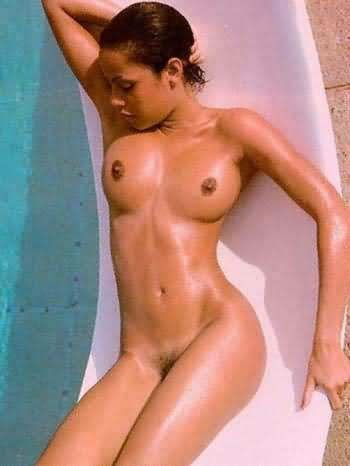 Naked angelina