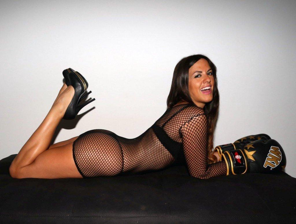 Romani naked claudia SLAP! Model