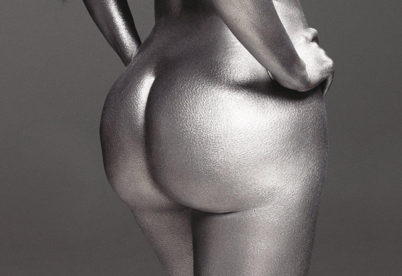 Kim butt naked