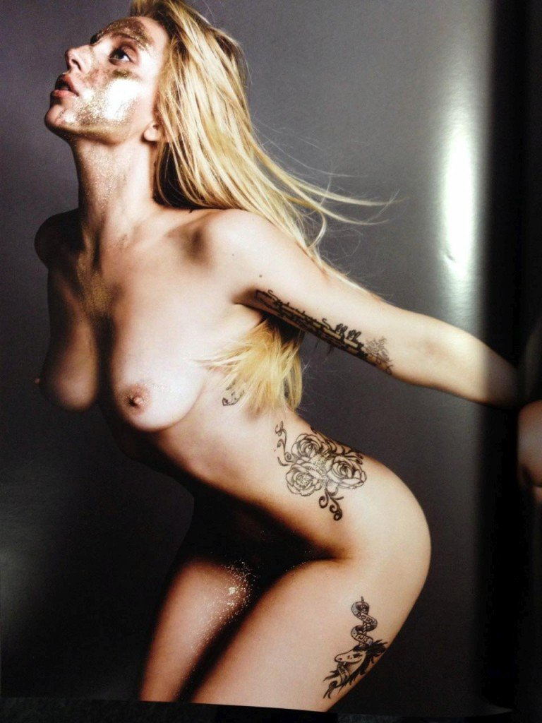 Lady Gaga Naked 016
