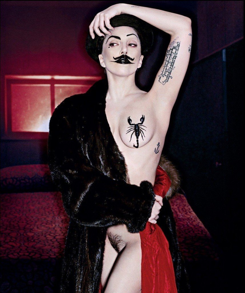 Lady Gaga Naked: Pussy, Tits and Ass (22 Photos)