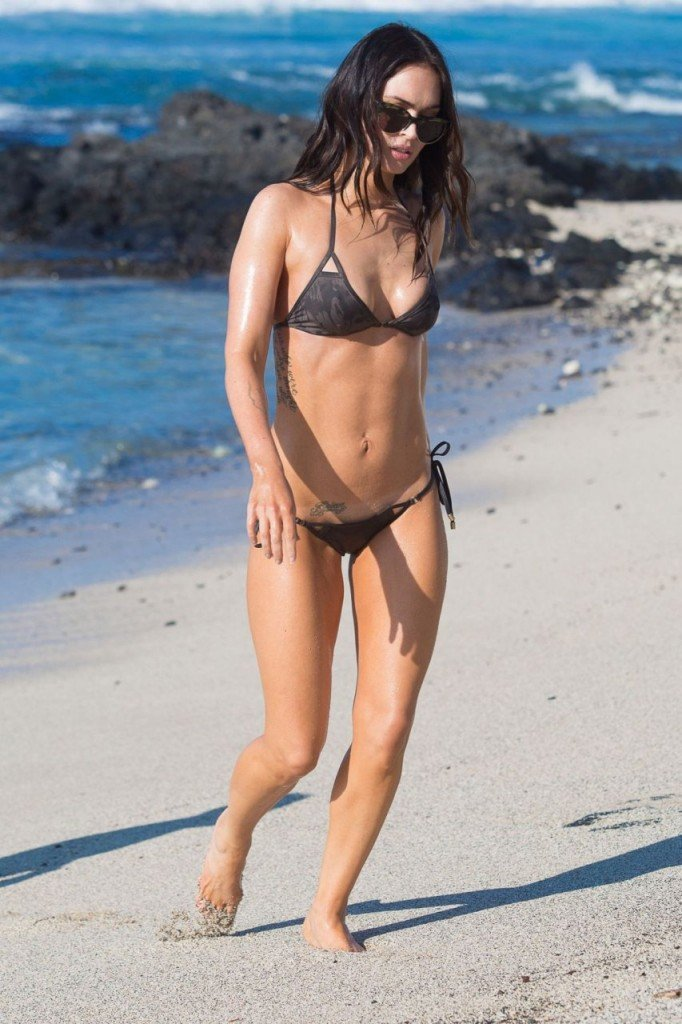 Megan Fox Cameltoe in Bikini 08