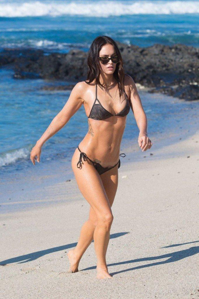 Megan Fox Cameltoe in Bikini 12