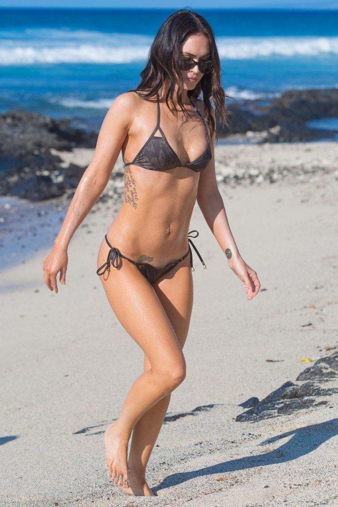 Megan Fox Cameltoe in Bikini 13