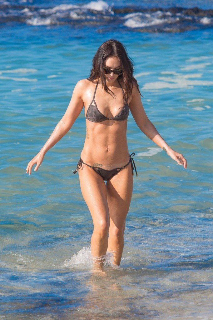 Megan Fox Cameltoe in Bikini 15