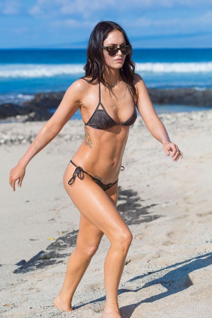 Megan Fox Cameltoe in Bikini 18