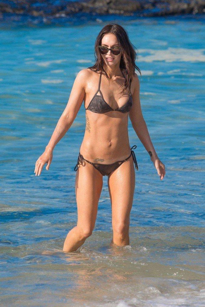 Megan Fox Cameltoe in Bikini 21