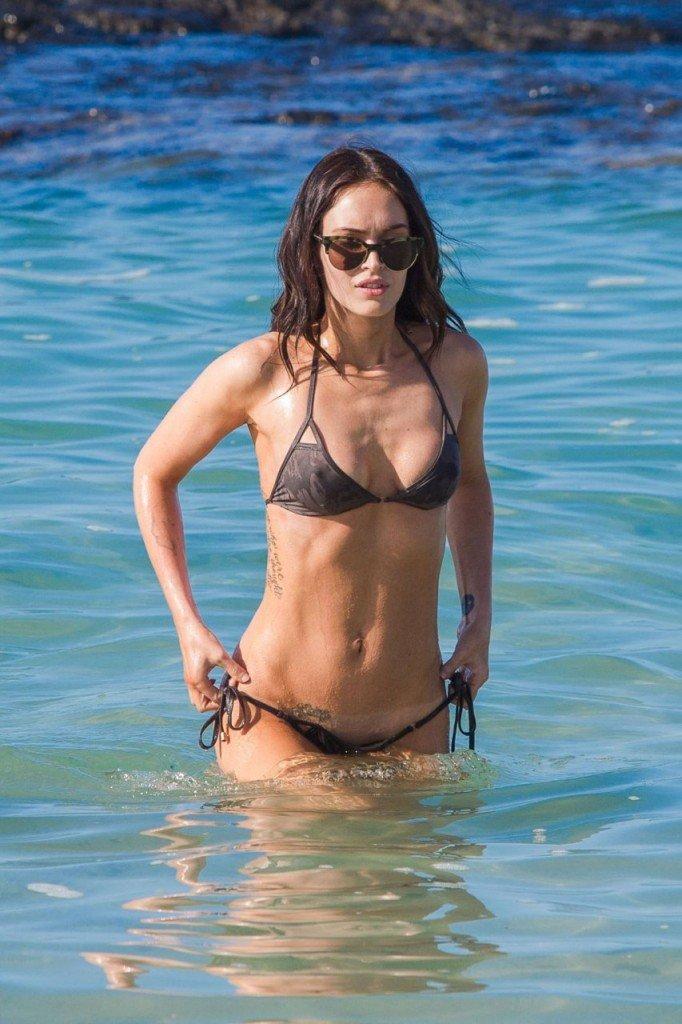 Megan Fox Cameltoe in Bikini 23