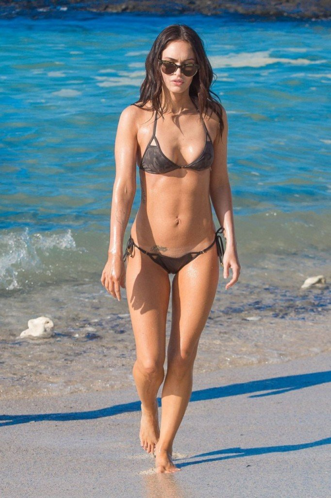 Megan Fox Cameltoe in Bikini 24