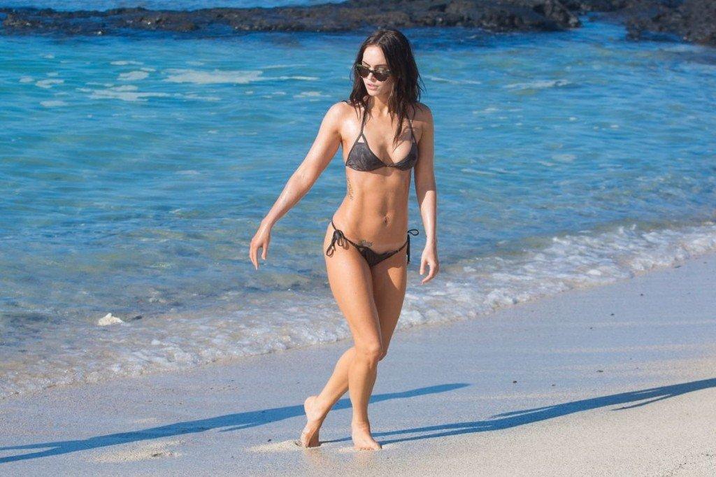 Megan Fox Cameltoe in Bikini 27