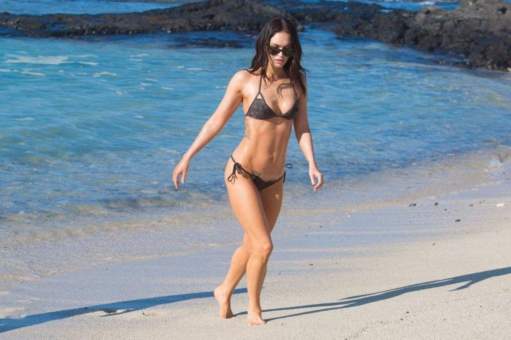 Megan Fox Cameltoe in Bikini (46 Photos)