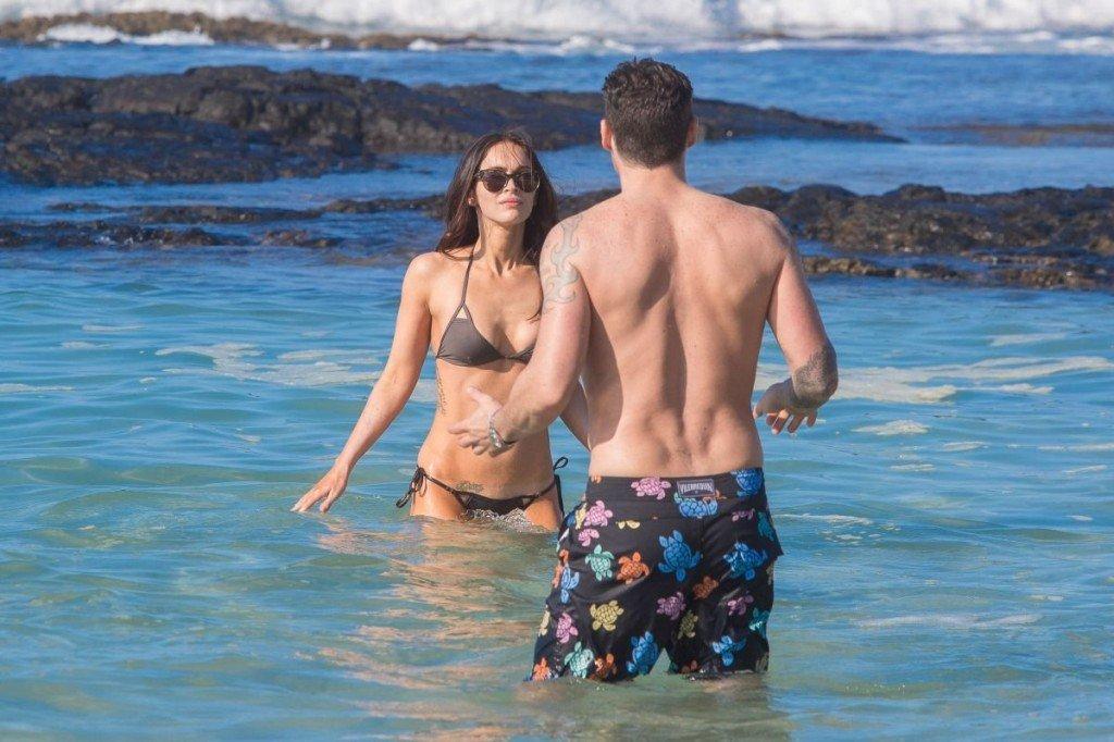 Megan Fox Cameltoe in Bikini 33