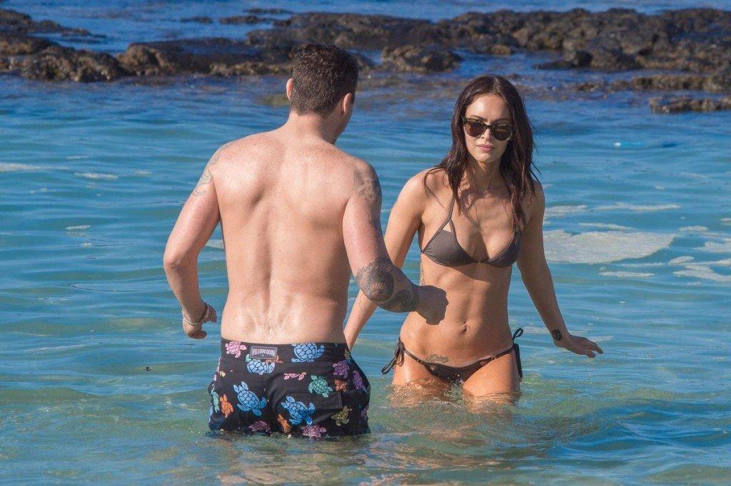 Megan Fox Cameltoe in Bikini 34