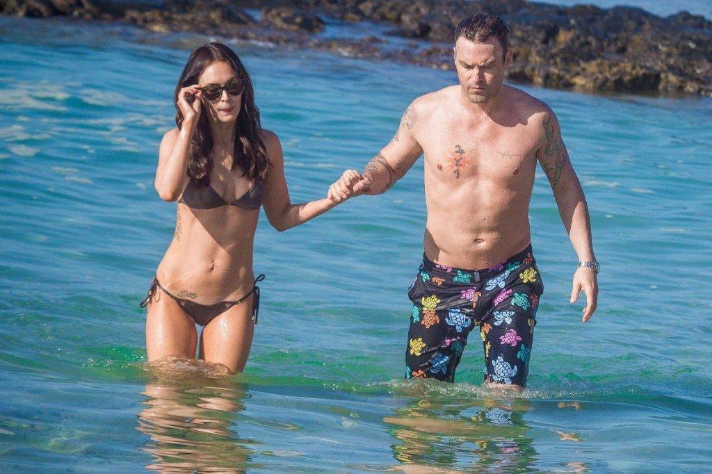 Megan Fox Cameltoe in Bikini 38