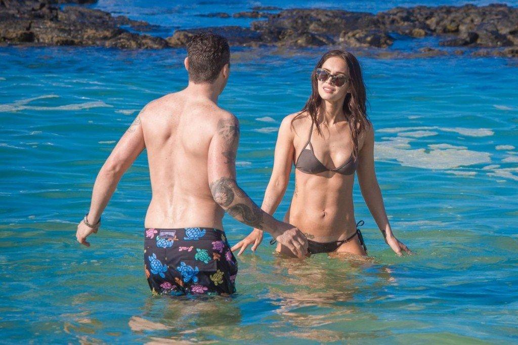 Megan Fox Cameltoe in Bikini 42