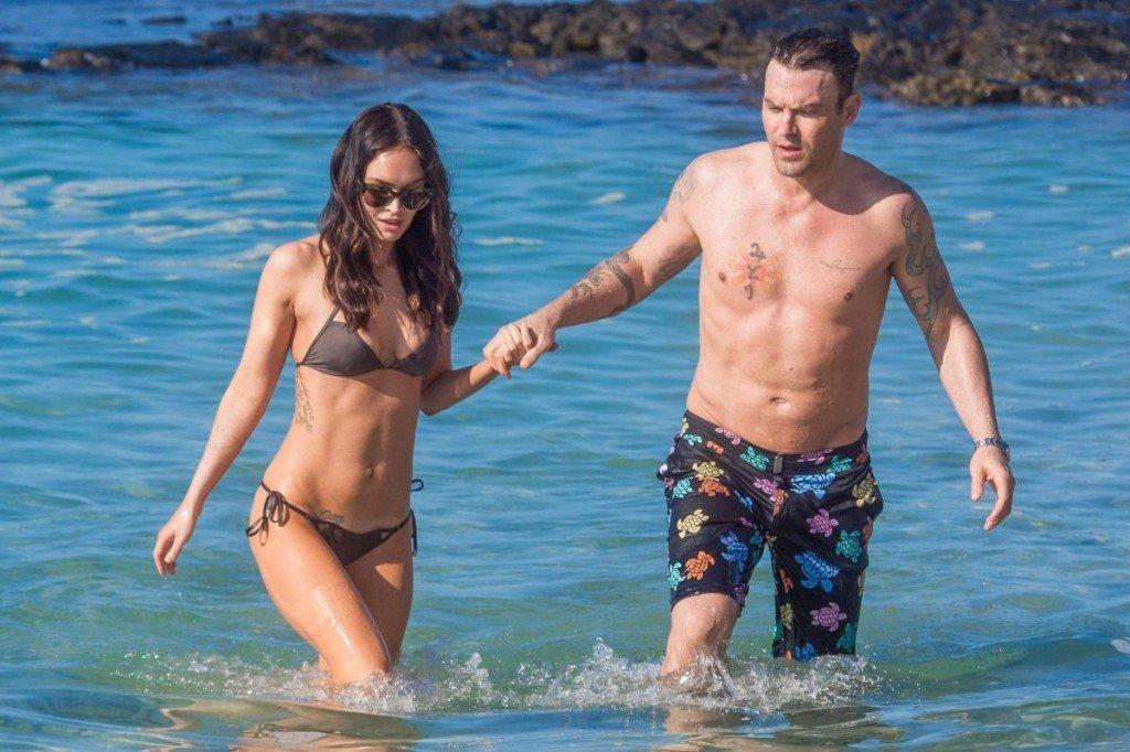 Megan Fox Cameltoe in Bikini 44