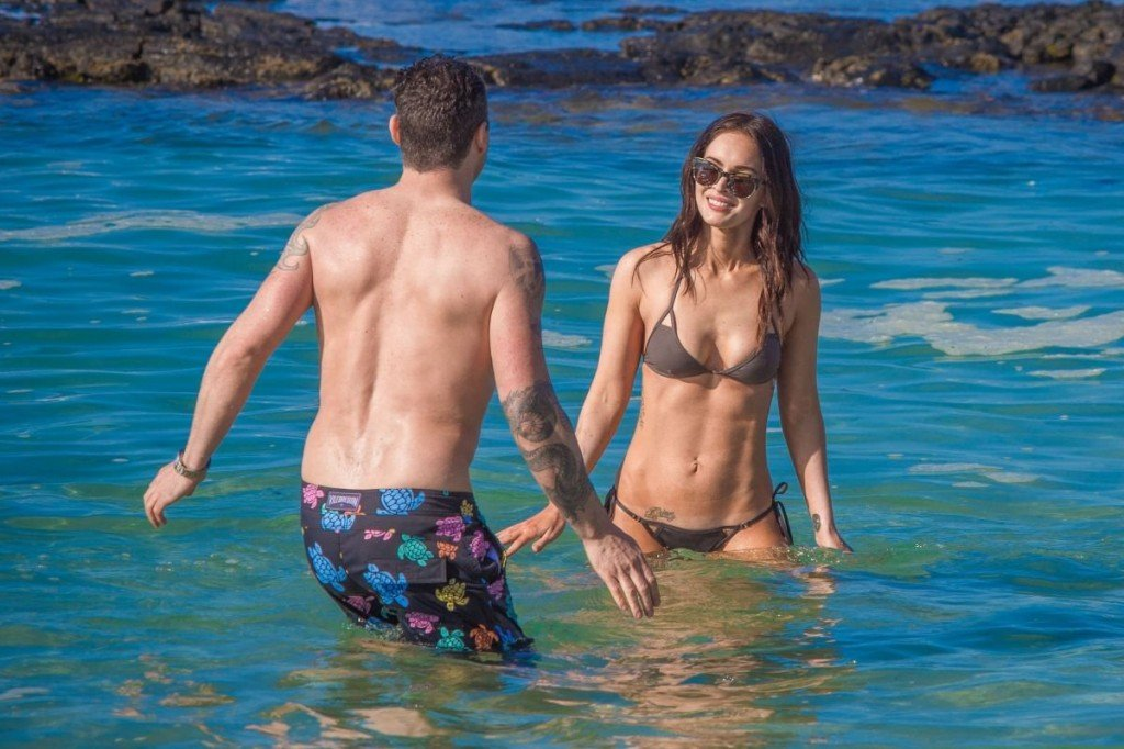 Megan Fox Cameltoe in Bikini 45