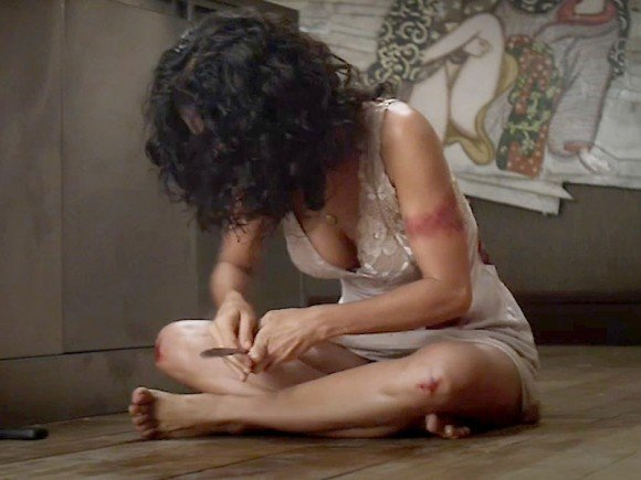 With salma hayek nude butt