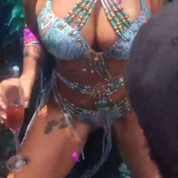 Amber Rose in Sexy Attire (12 Photos)