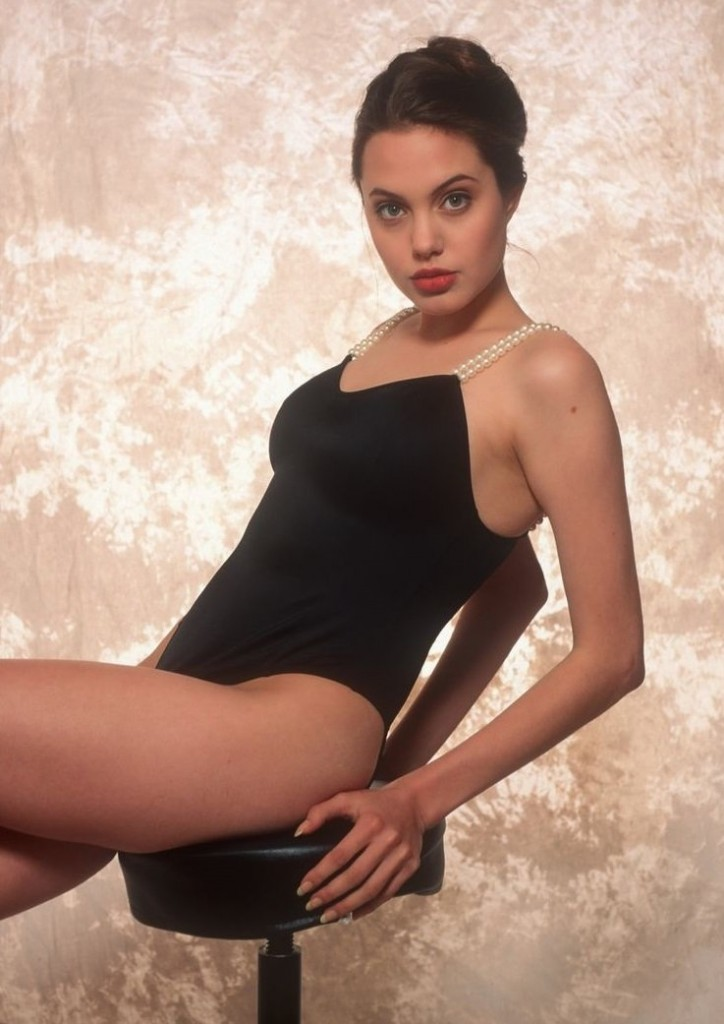 Angelina Jolie Young in Bikini (28 Photos) | #TheFappening