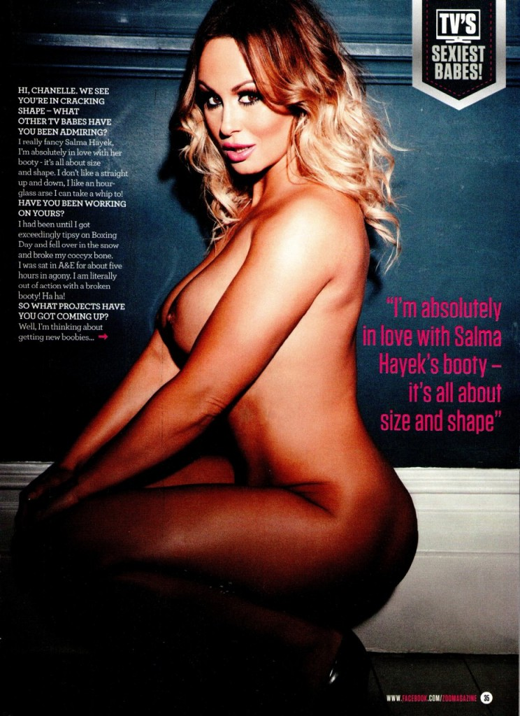 Chanelle Hayes Naked 06
