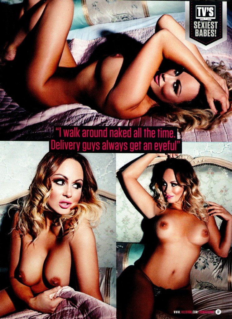 Chanelle Hayes Naked (13 Photos)