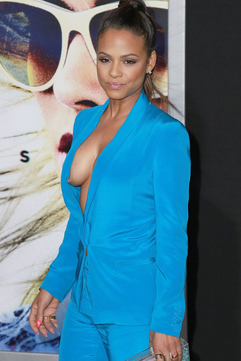christina milian naked breasts