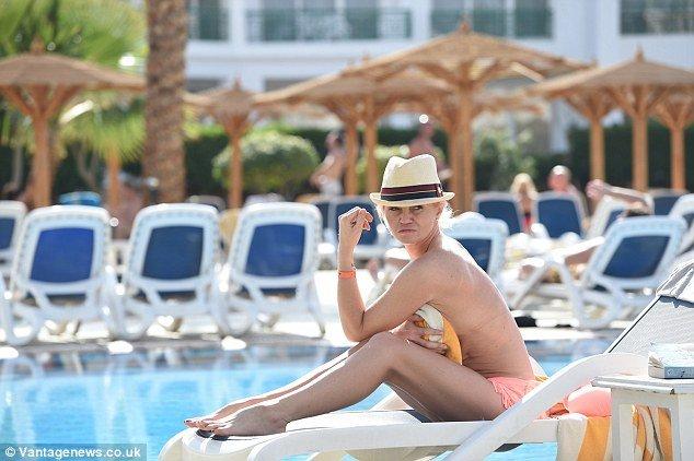Danniella Westbrook Topless 02