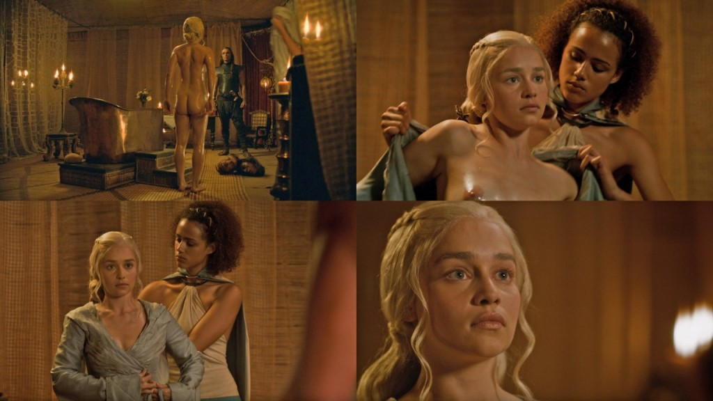 Emilia Clarke Naked (7 Photos)