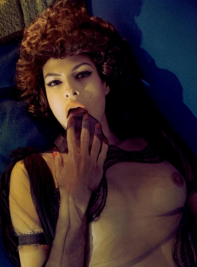 Valuable message eva mendes naked tits