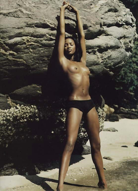 Can not madonna and naomi campbell nude