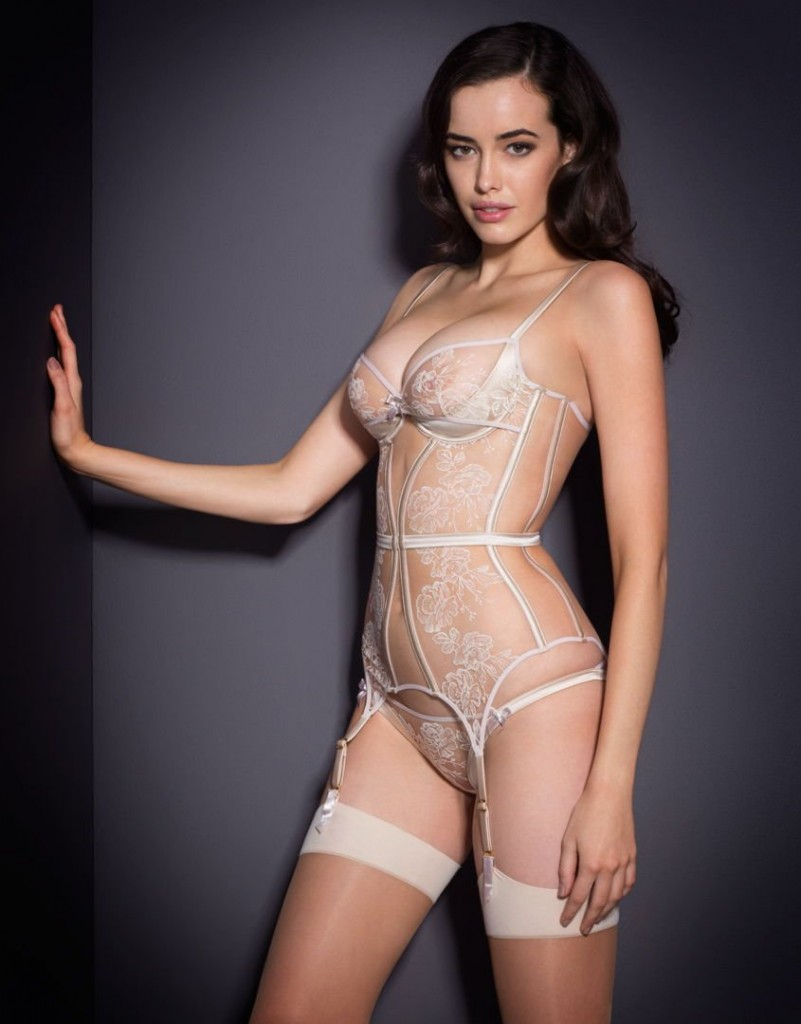 Sarah Stephens in Sexy Lingerie (8 Photos)