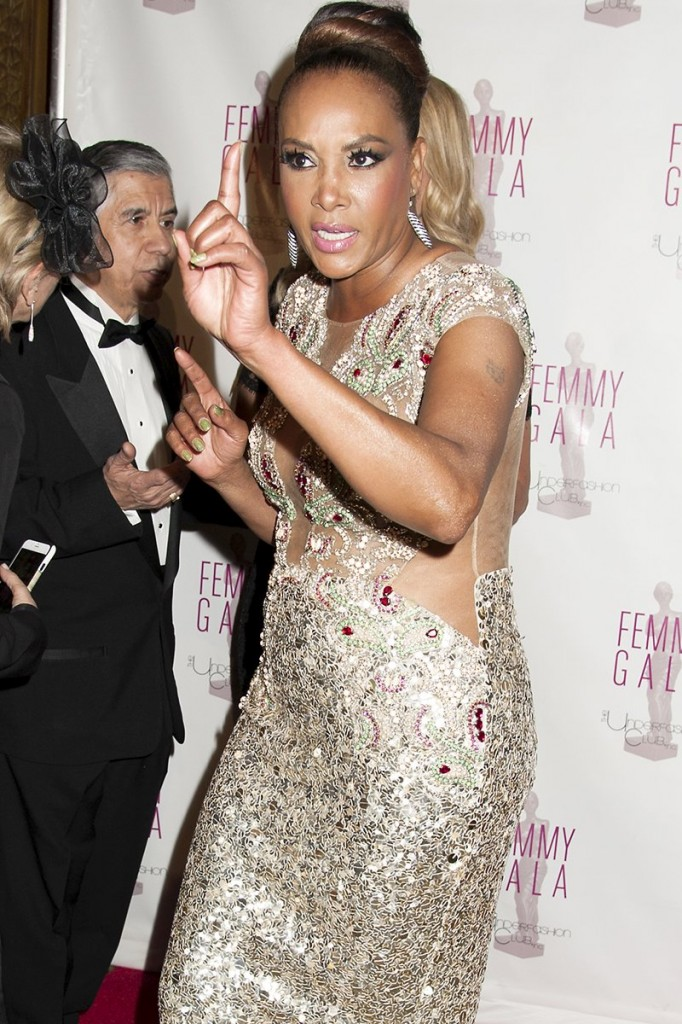 Vivica A. Fox attends the 2015 Femmy Gala in New York City, NY