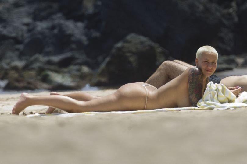 Amber Rose Topless 09