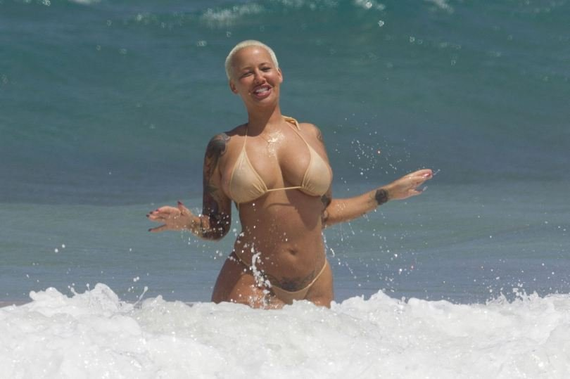 Amber Rose Topless 18