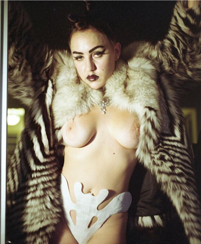 Brooke Candy Naked 17