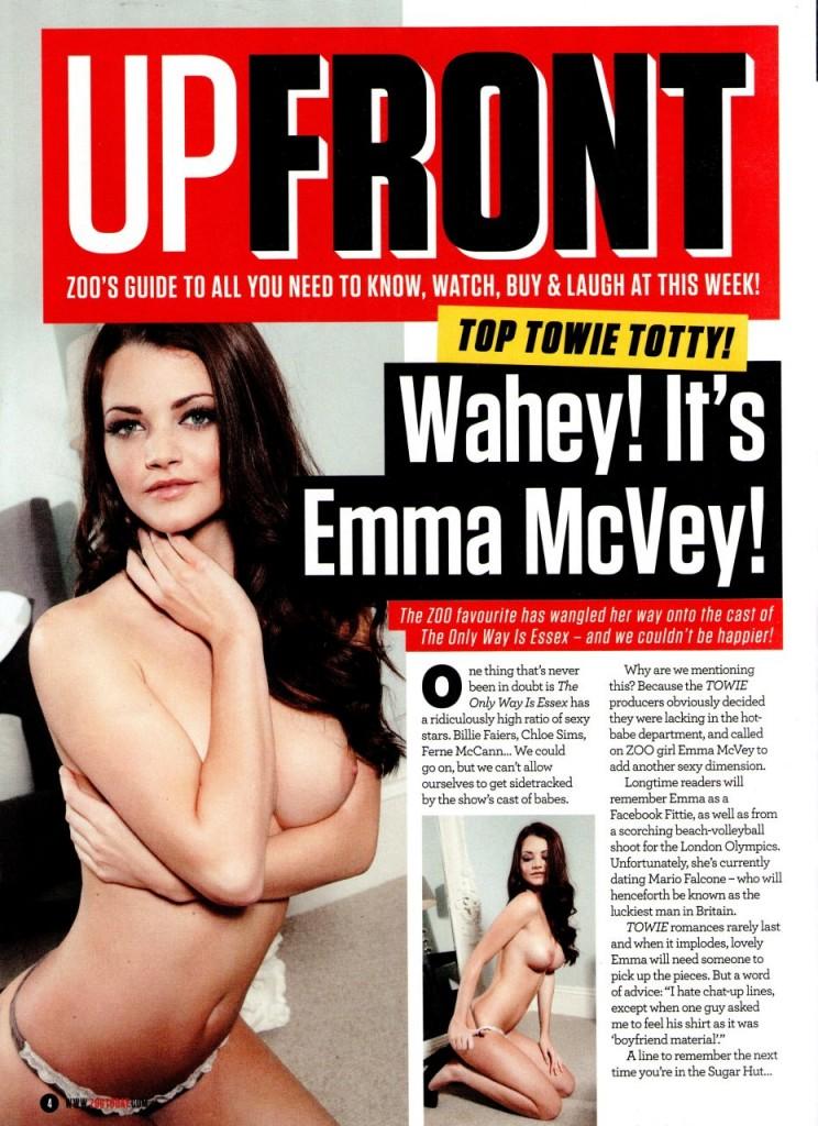 Emma McVey Topless (2 Photos)