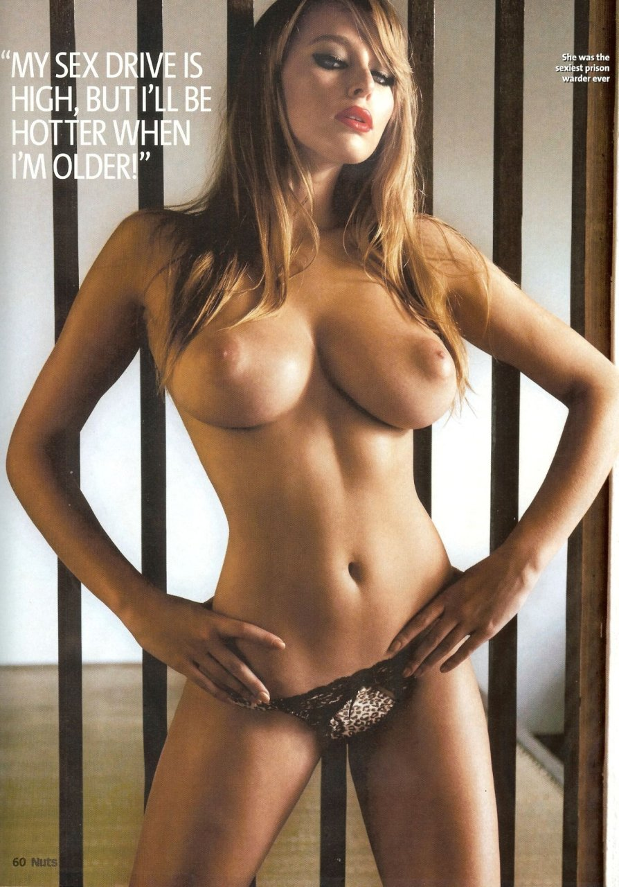 playboy nude Keeley hazell