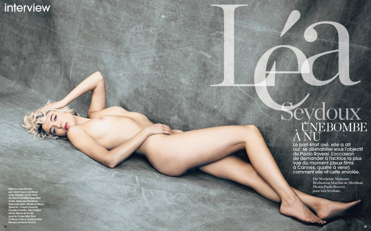 Lea seydoux naked