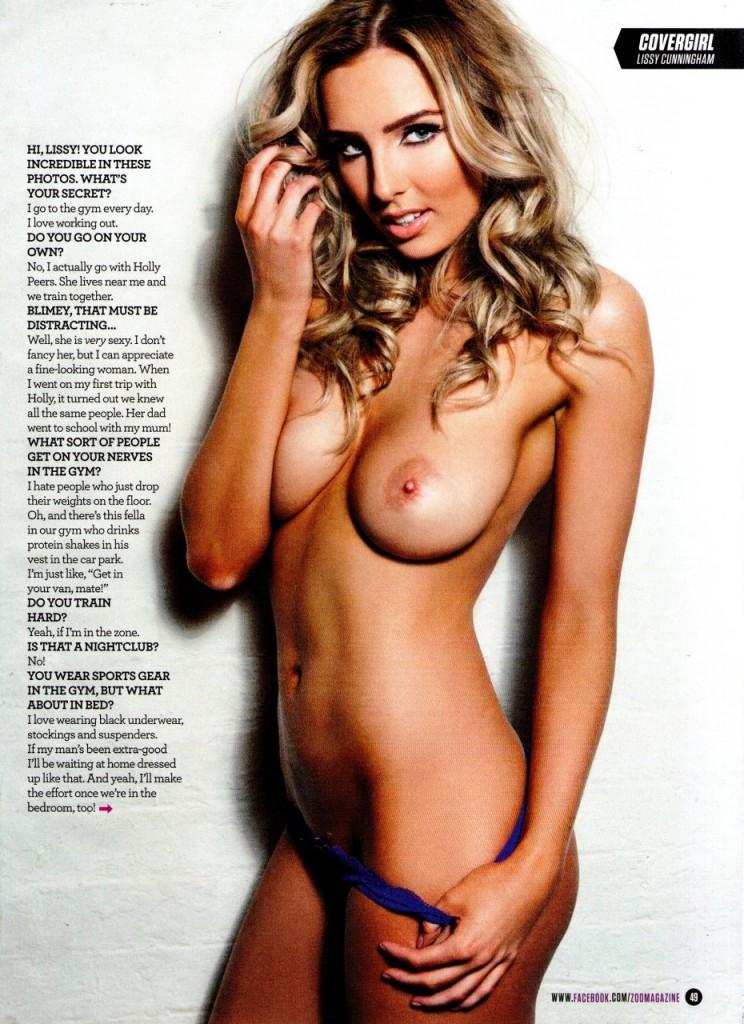 Lissy Cunningham Topless (6 Photos)