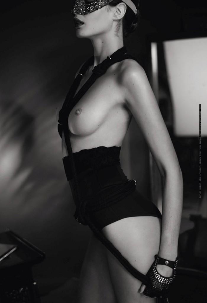 Monica Cima and Hannare Blaaboer Topless 09