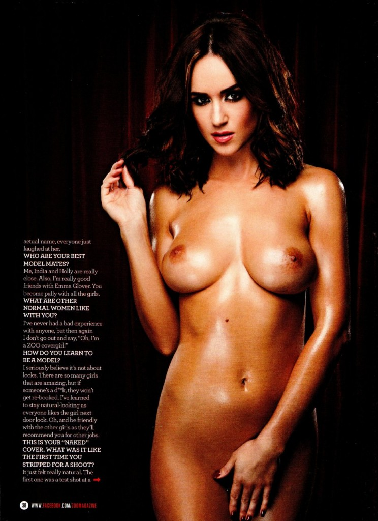 Topless rosie jones nude