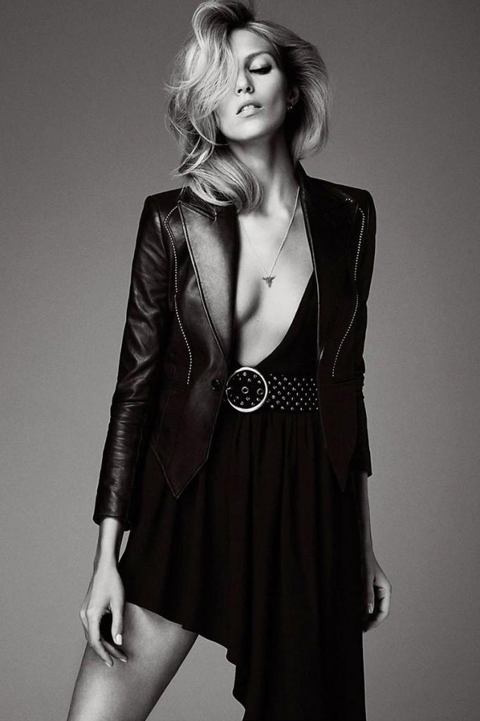 Anja Rubik Topless (7 Photos)