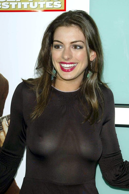 Anne Hathaway Topless (11 Photos)