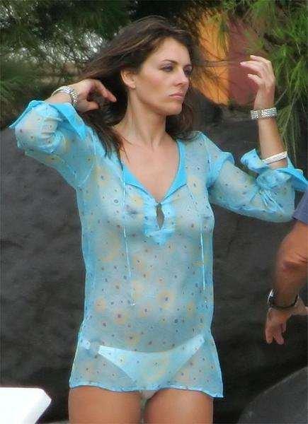 Elizabeth Hurley Naked (9 Photos)