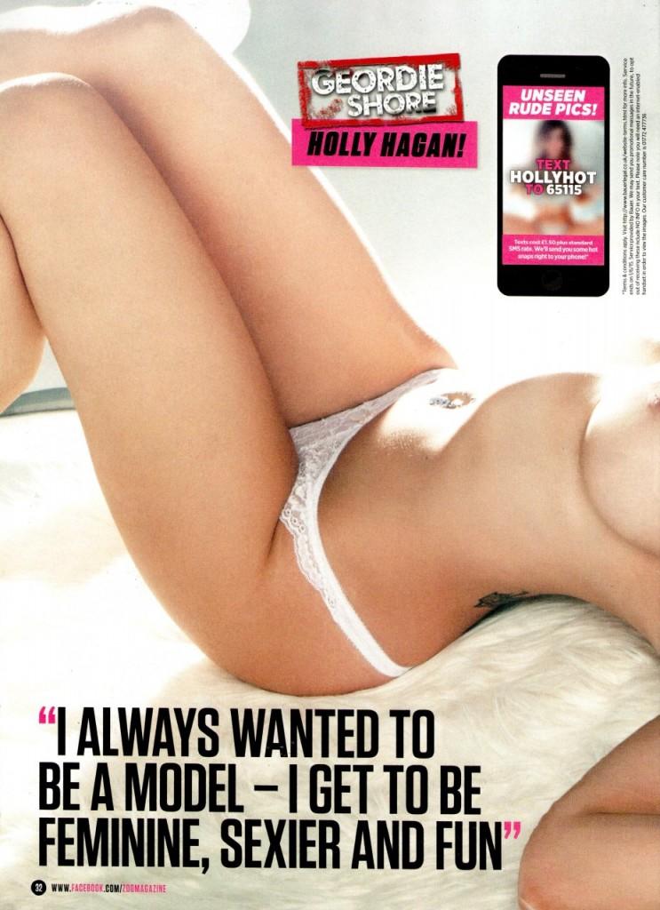 Holly Hagan Topless (12 Photos)